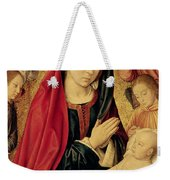 The Virgin And Child Adored By Angels  Weekender Tote Bag