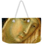 The Virgin And Child On A Throne Fragment 1311 Weekender Tote Bag