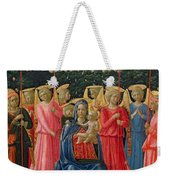 The Virgin And Child With Angels Weekender Tote Bag