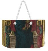 The Virgin And Child With Four Angels Weekender Tote Bag