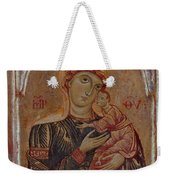 The Virgin And Child With Two Angels Weekender Tote Bag