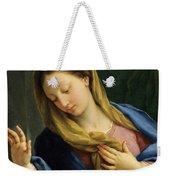 The Virgin Annunciate Weekender Tote Bag