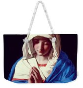The Virgin In Prayer Weekender Tote Bag by Il Sassoferrato