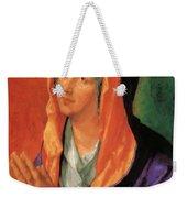 The Virgin Mary In Prayer Weekender Tote Bag