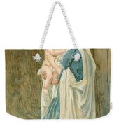 The Virgin Mary With Jesus Weekender Tote Bag