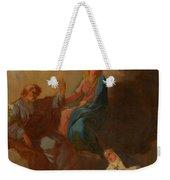 The Virgin Placing St Teresa Under The Protection Of St Joseph Weekender Tote Bag