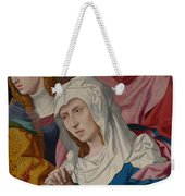 The Virgin Saints And A Holy Woman Weekender Tote Bag