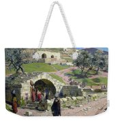The Virgin Spring In Nazareth Weekender Tote Bag