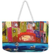 The Vista Of The City Weekender Tote Bag