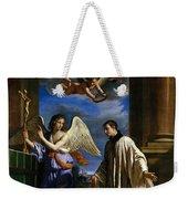 The Vocation Of Saint Aloysius Gonzaga Weekender Tote Bag