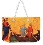 The Vocation Of The Apostle Peter Fragment 1311 Weekender Tote Bag