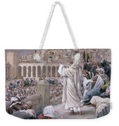 The Voice From Heaven Weekender Tote Bag