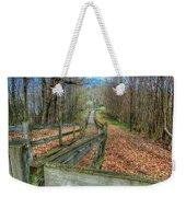 The Walk In The Woods Weekender Tote Bag