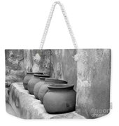 The Wall Of Pots Weekender Tote Bag