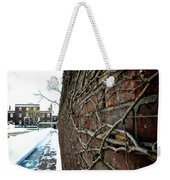 The Wall That Never Ends Weekender Tote Bag