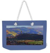 The Wallace Tower Stirling Scotland Weekender Tote Bag