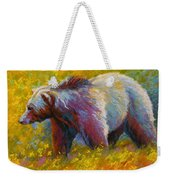 The Wandering One - Grizzly Bear Weekender Tote Bag