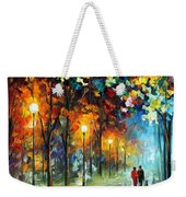 The Warmth Of Friends Weekender Tote Bag