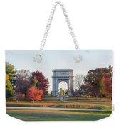 The Washington Memorial At Valley Forge Panorama Weekender Tote Bag