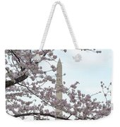 The Washington Monument At The Cherry Blossom Festival Weekender Tote Bag