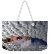 The Watcher Above Weekender Tote Bag