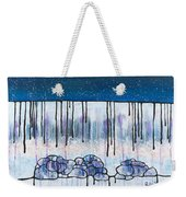 The Water And The Fall Weekender Tote Bag