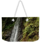 The Water Falling At The Yoro Waterfall In Gifu, Japan, November Weekender Tote Bag