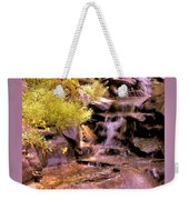 The Water Falls Weekender Tote Bag