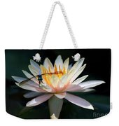 The Water Lily And The Dragonfly Weekender Tote Bag by Sabrina L Ryan