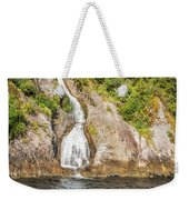 'the Water Of Life' Spring At Doubtful Sound Weekender Tote Bag