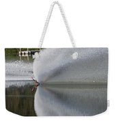 The  Water Skier Weekender Tote Bag