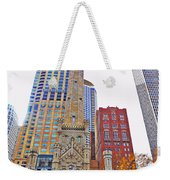 The Water Tower In Autumn Weekender Tote Bag