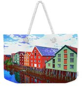 The Waterfront Weekender Tote Bag