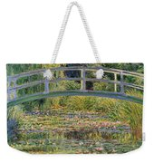 The Waterlily Pond With The Japanese Bridge Weekender Tote Bag by Claude Monet