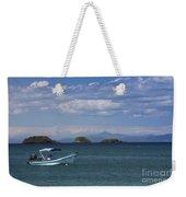 The Waters Of Coiba Weekender Tote Bag