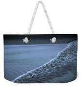 The Wave Of A Bore Tide Traveling Weekender Tote Bag