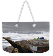 The Wave Watchers Weekender Tote Bag