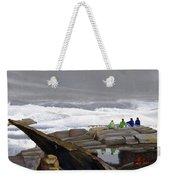 The Wave Watchers Weekender Tote Bag
