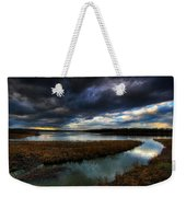 The Way Of The River Weekender Tote Bag
