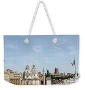The Way To Piazza Venezia Weekender Tote Bag