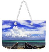 The Way To The Beach 2 Weekender Tote Bag