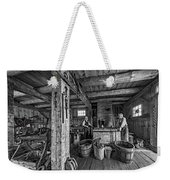 The Way We Were - The Blacksmith 2 Bw Weekender Tote Bag
