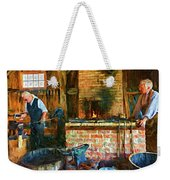 The Way We Were - The Blacksmith - Paint Weekender Tote Bag