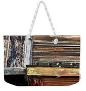 The Weathered Paramount Ranch Weekender Tote Bag