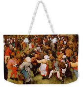 The Wedding Dance Weekender Tote Bag by Pieter the Elder Bruegel