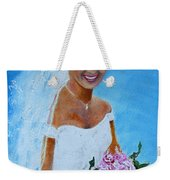 the wedding day of my daughter Daniela Weekender Tote Bag