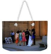 The Wedding Party Detail Weekender Tote Bag