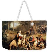 The Wedding Trek Weekender Tote Bag
