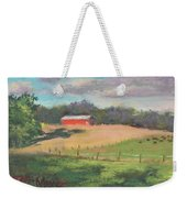 The West Cow Pasture Early Morning Weekender Tote Bag