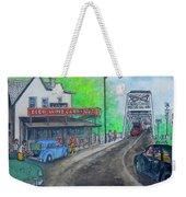 The West End Carryout At The Bridge Weekender Tote Bag